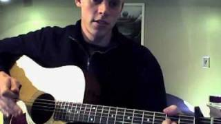 Tutorial- Colder Weather by The Zac Brown Band