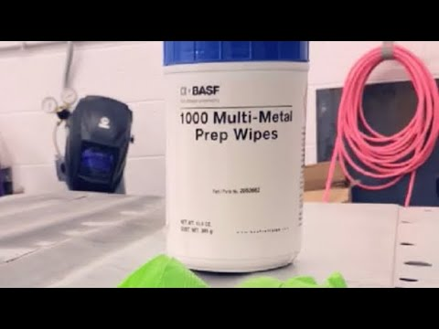 how to use metal ETCH wipes