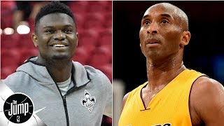 Zion Williamson says he wants to be a one-team player like Kobe Bryant | The Jump