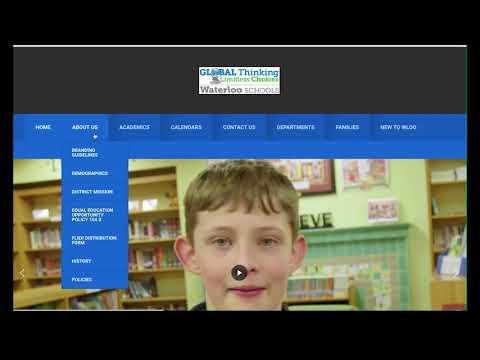 Waterloo Schools Website Tutorial