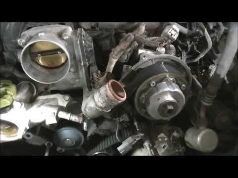 toyota 4 7 v8 landcruiser timing belt and water pump job youtube Toyota 4Runner V8 Engine