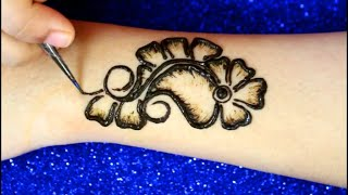 Arabic Mehndi Designs for Hands | Mehendi Design Back Hand  | Simple Mehndi Design Hand |  HENNA ART