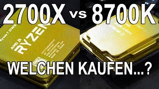 Eine SCHWERE Entscheidung! -- AMD Ryzen 7 2700X vs Intel i7 8700K