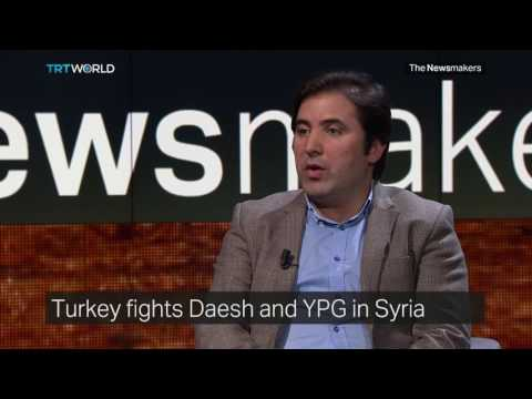 The Newsmakers: Operation Euphrates Shield and International Players in Syria's War