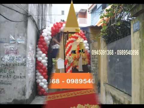 chuyên làm cổng bóng đám cưới --HN-0945091368-0989540896.wmv