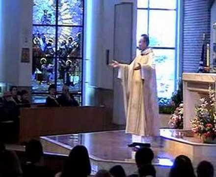 Part 2 Homily at St Joseph Parish Avon Lake 04-06-08