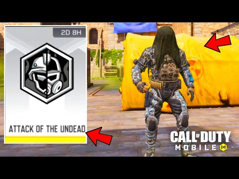 New Attack Of The Undead Mode in Call of duty mobile! + New Tunisia Map! Cod Mobile season 7!