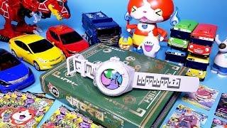 요괴워치 제3장과 카드 Youkai watch battle card & toys thumbnail