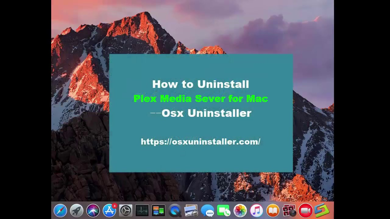 How to Uninstall Plex Media Server Completely? macOS Removal Guide