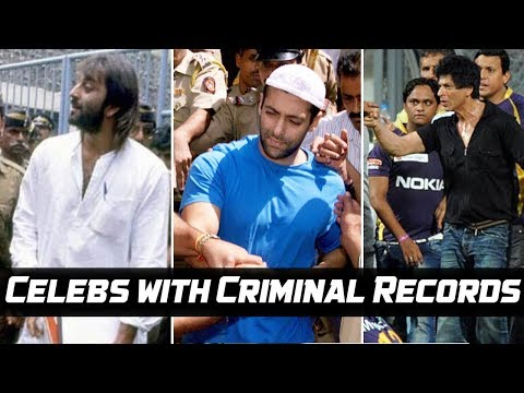 8 Bollywood Celebs With SHOCKING Criminal Records You Didn't Know