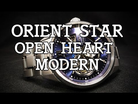 Orient Star - Open Heart Modern (Modern Skeleton) DK05002D - Review, Measurements and Lume