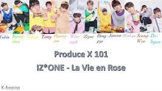 How would ProduceX101 sing IZ*ONE – La Vie en Rose (라비앙로즈) [Han/Rom/Eng]