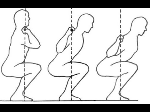 Low bar squat technique
