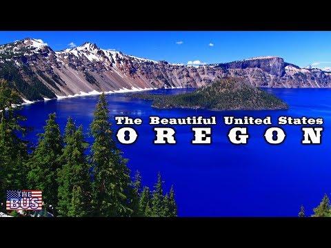 USA State of Oregon Symbols / Beautiful Places / Song OREGON, MY OREGON w/lyrics