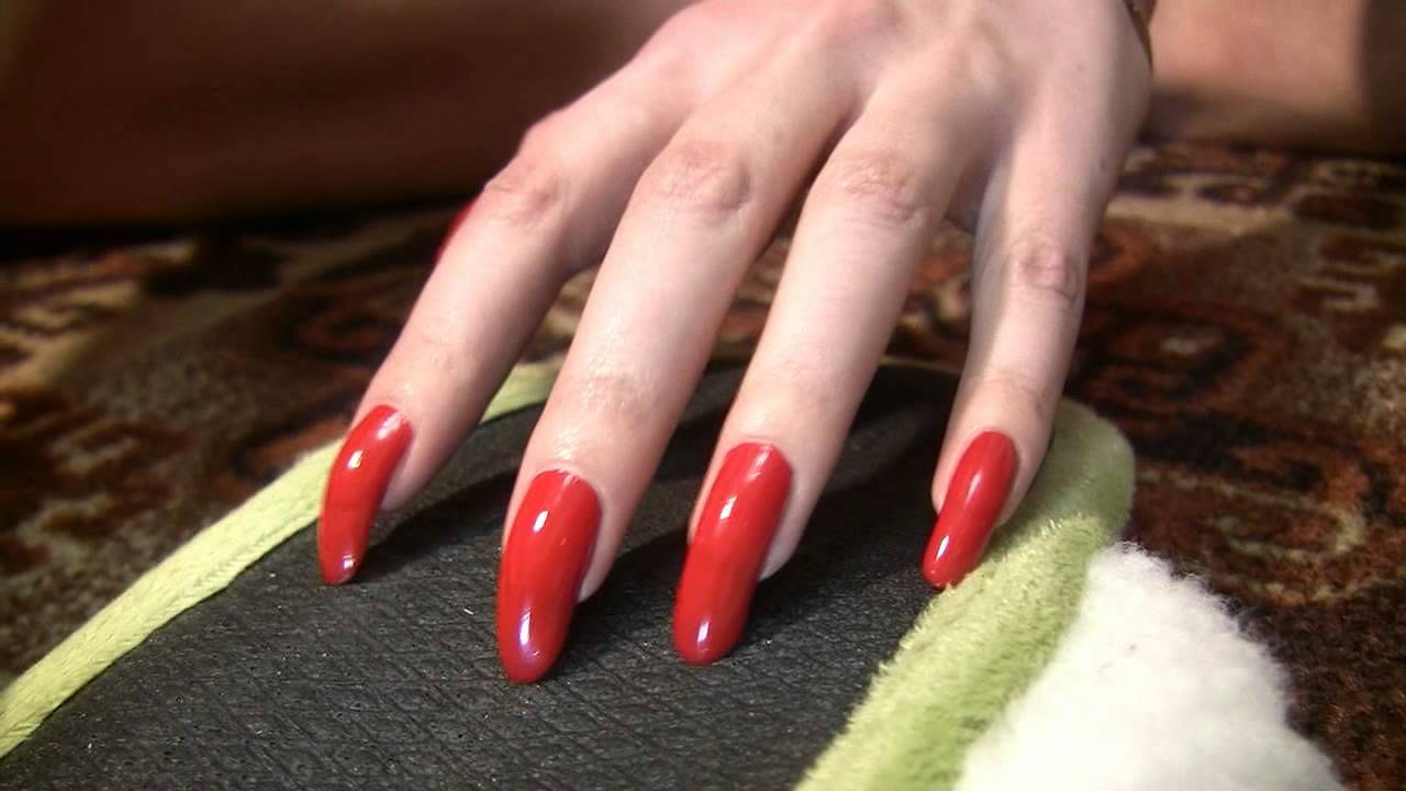 Red scratching mix with beautiful long fingernails by kreolla (video ...