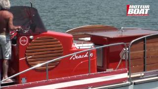 BEACH R 8 Moteur Boat