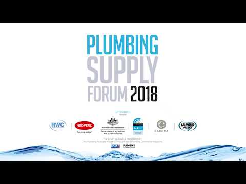 Plumbing Supply Forum 2018 - Conference Opening & Welcome