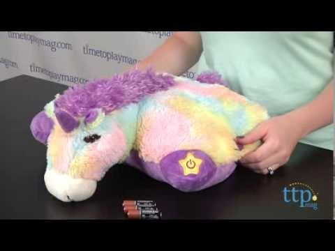 glow pets sparkling unicorn from cj products