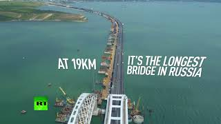 Connecting: What we know about the 19km Crimea bridge
