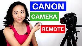 Canon Camera Remote Control RC-6 Review + Demonstration