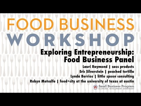 Exploring Entrepreneurship: Food Business Panel