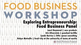 Exploring Entrepreneurship: Food Business Panel