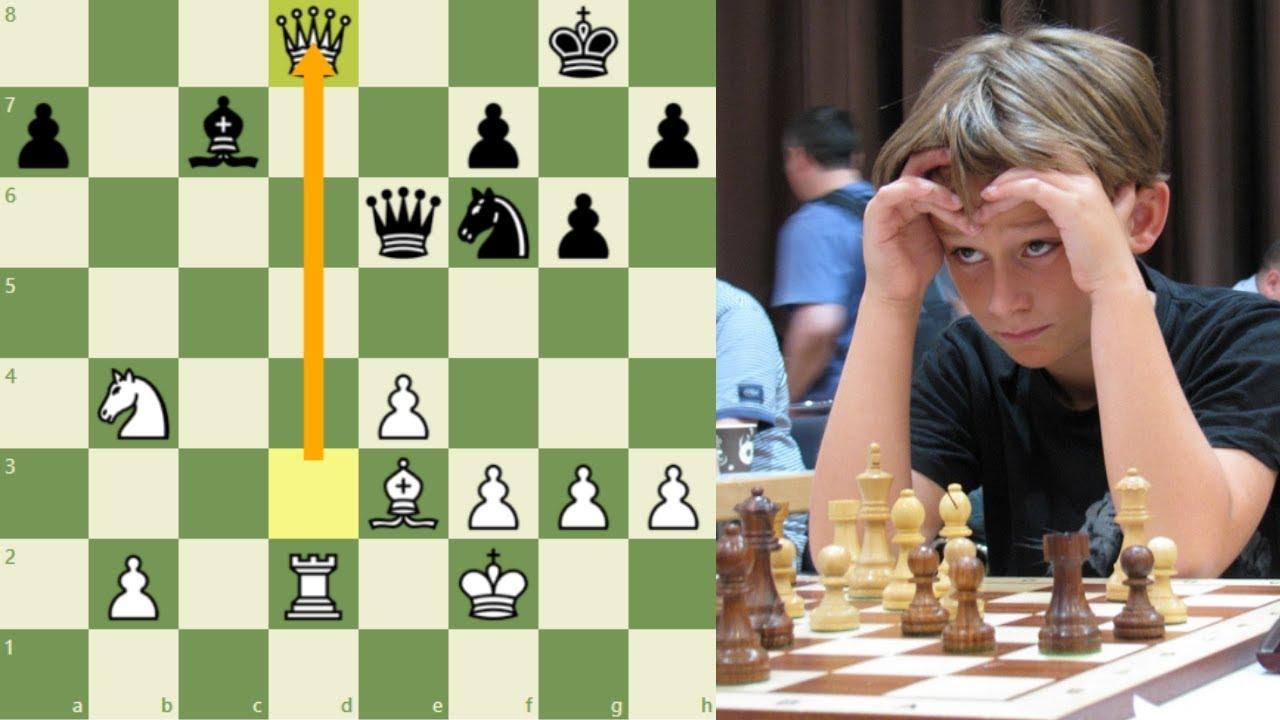 ¡EL NIÑO QUE SACRIFICA SU DAMA Y DERROTA A UN 2.700!: Keymer (Aleman) vs Gelfand (Judio)