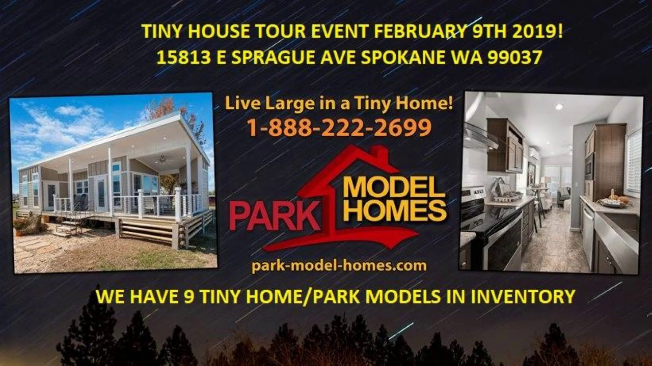 Tiny Home Tour At Park Model Homes Youtube