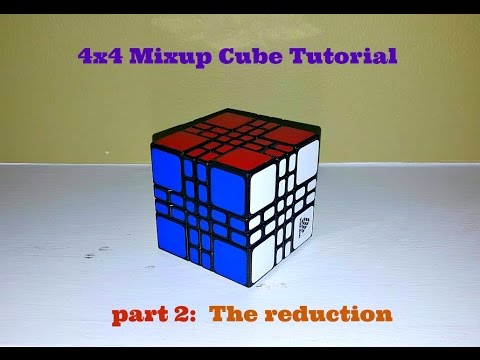 4x4 Mixup Plus Tutorial Part 2:  Finishing the reduction