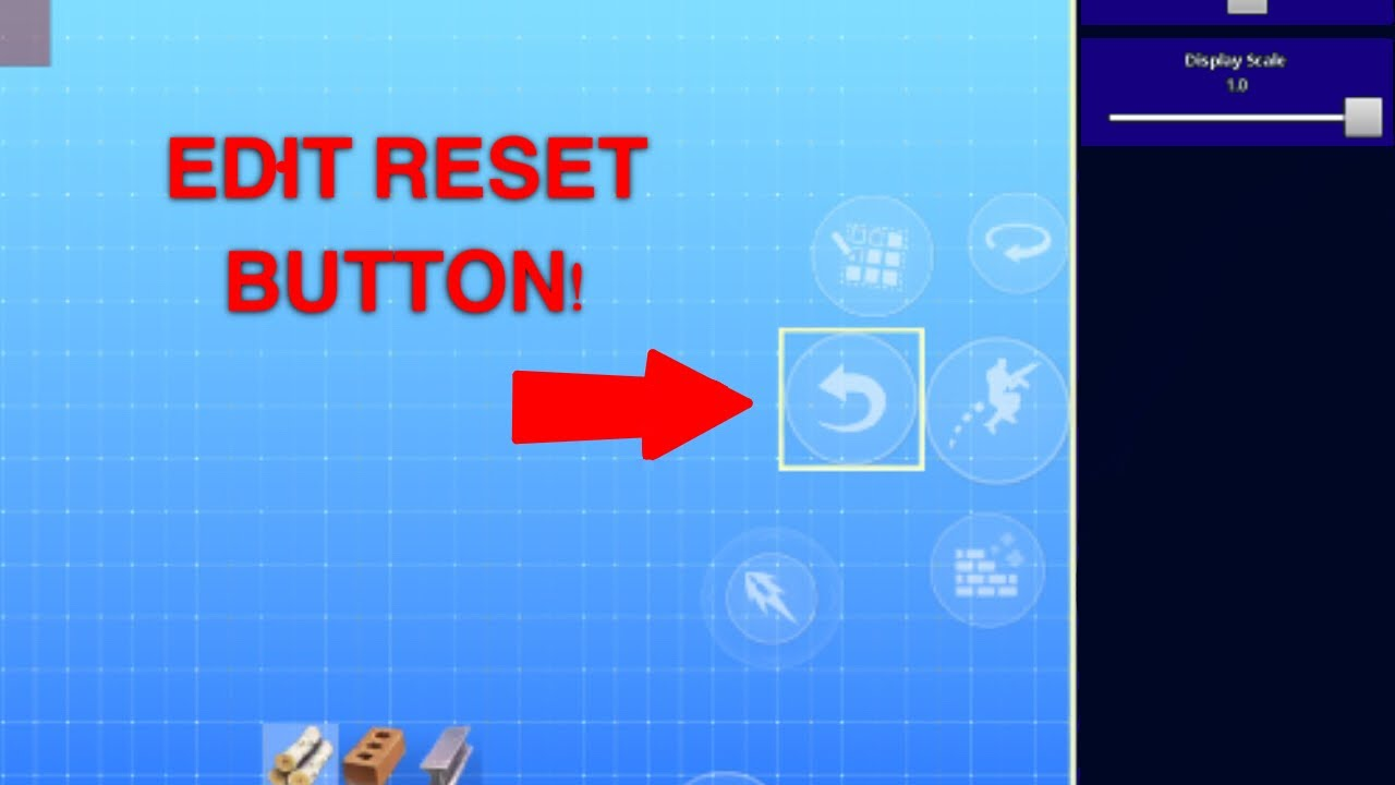 Edit Reset Button On Fortnite Mobile How To Finally Edit Like A Pc