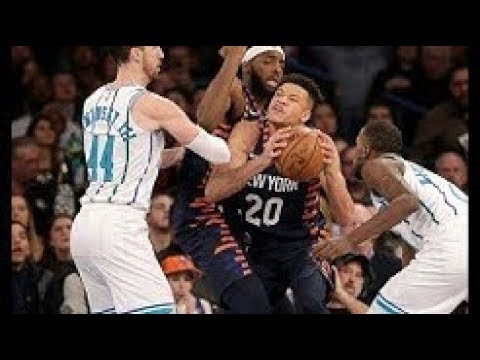Charlotte Hornets vs New York Knicks Full Game Highlights | 12-08-2018, NBA Season
