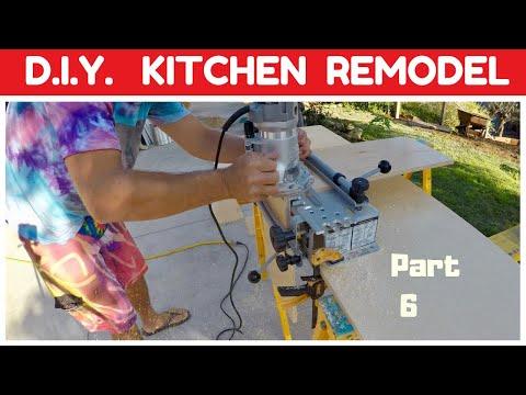 DIY KITCHEN REMODEL – Drawers For Pots & Pans – Part 6
