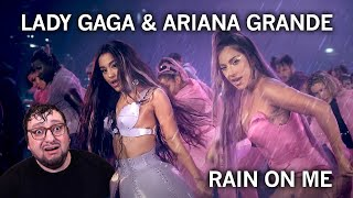 Lady Gaga & Ariana Grande - Rain On Me (REACTION) РЕАКЦИЯ!