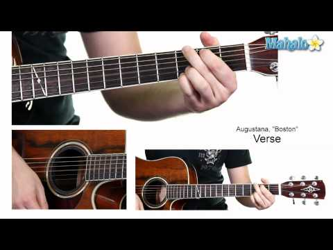 "How to Play ""Boston"" by Augustana on Guitar (Whole Lesson)"