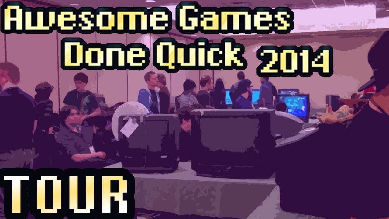 Awesome Games Done Quick 2014 Hotel Tour And Quick