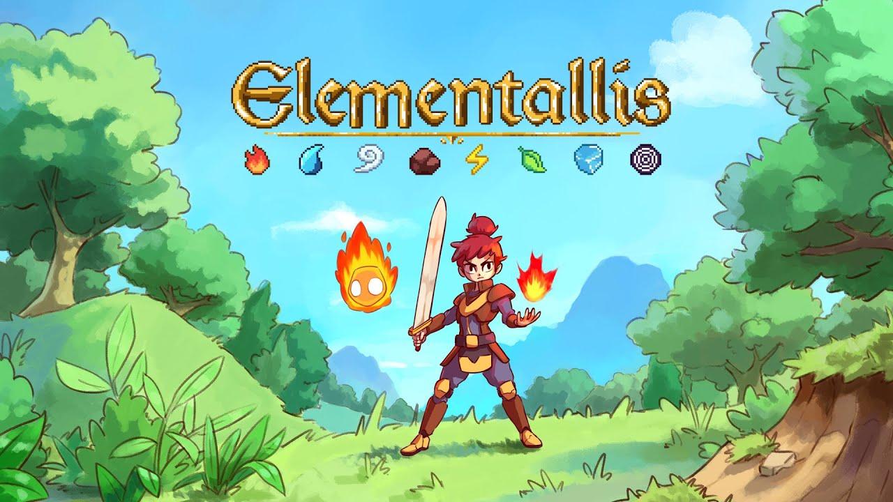 Kickstarter Title Elementallis looks like a ton of fun
