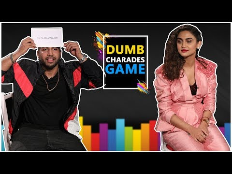 I Need Ya Song Stars Sukhe And Krystle D'Souza Played Fun Filled Dumb Charades