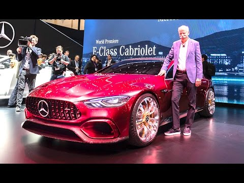 5 Best Features Mercedes AMG GT Concept Review Hybrid New Mercedes CLS   Geneva CARJAM