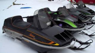My collection of Free Air Arctic Cat snowmobiles