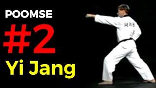 Poomse 2 TAEGEUK YI JANG - Poumsé n°2 en Taekwondo