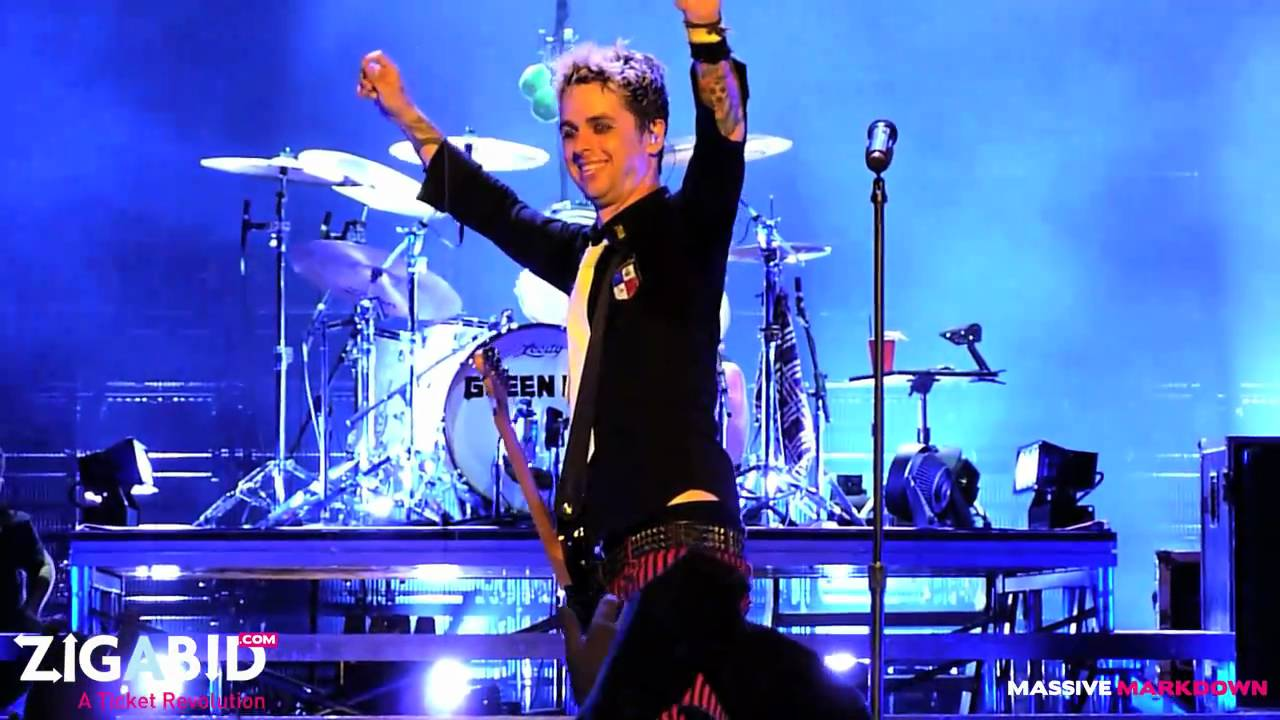 Green Day Live Exclusive Iron Man Sweet Child O Mine Baba O Riley More Green Day