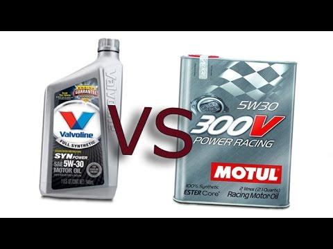 Motul 300v power racing 5w30 vs valvoline synpower 5w30 for Valvoline motor oil test