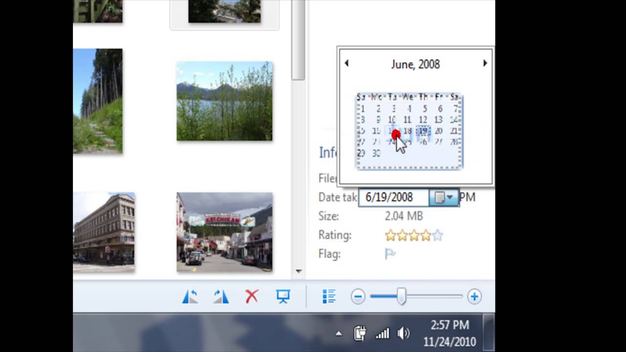 Adjust A Photos Date And Time With Photo Gallery