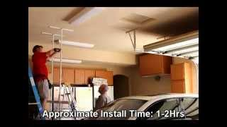 Moterized Electric Overhead Bike Storage Lift - Store Your Bicycle Above Your Car!