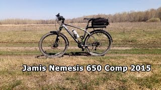 #2 Обзор велосипеда Jamis Nemesis 650 Comp 2015