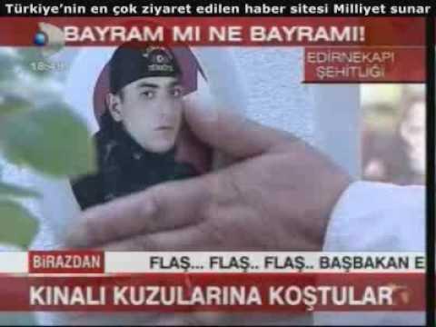 Bayramda Analar Kınalı Kuzularına Koştular, Edirnekapı Şehitliği, Ramazan Bayramı  20.9.09