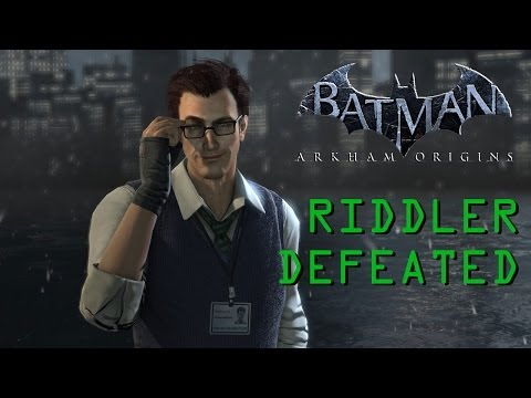 Batman: Arkham Origins (PC) - The Riddler Defeated (All Enigma Items Found/Destroyed)