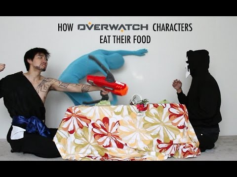 Thumbnail: How Overwatch Characters Eat Their Food - With Lethal Soul