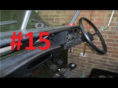 land rover series 3 restoration dashboard 15 youtube. Black Bedroom Furniture Sets. Home Design Ideas