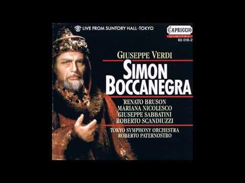"""Verdi """"Simon Boccanegra"""" Renato Bruson"""
